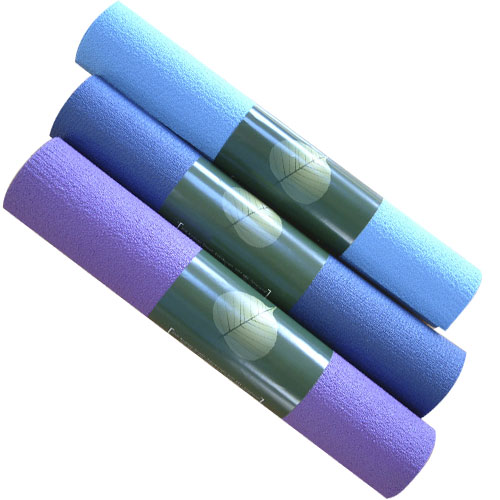 Lot de tapis de yoga ecotex housse de transport 30 90 for Housse tapis yoga